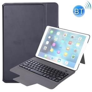 T1095 For iPad Pro 10.5 inch / Air 10.5 inch Ultra-thin One-piece Plastic Bluetooth Keyboard Leather Cover with Stand Function (Black)