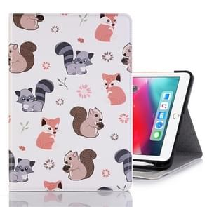 Squirrels Pattern Horizontal Flip Leather Case for iPad Pro 11 inch (2018),with Card Slots & Holder & Wallet & Photo Frame & Pen slot