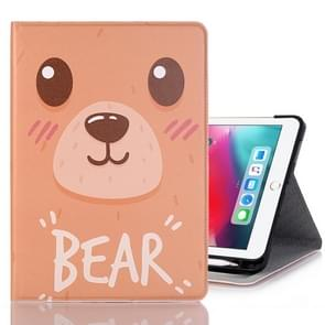 Bear Pattern Horizontal Flip Leather Case for iPad Pro 11 inch (2018),with Card Slots & Holder & Wallet & Photo Frame & Pen slot