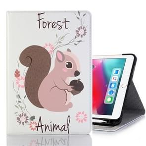 Squirrel Pattern Horizontal Flip Leather Case for iPad Pro 11 inch (2018),with Card Slots & Holder & Wallet & Photo Frame & Pen slot