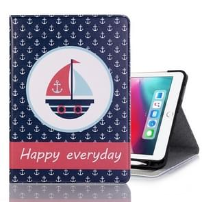 Ship Pattern Horizontal Flip Leather Case for iPad Pro 11 inch (2018),with Card Slots & Holder & Wallet & Photo Frame & Pen slot