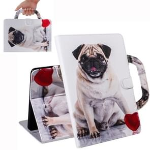 Dog Pattern Horizontal Flip Leather Case for iPad Mini(2019) / Mini 1 / 2 / 3 / 4, with Holder & Card Slot & Wallet