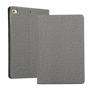 Universal Voltage Craft Cloth TPU Protective Case for iPad Mini 4 / 5, with Holder(Grey)
