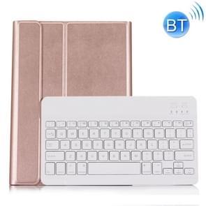 ST 860S voor Samsung Galaxy tab S6 10 5 inch T860/T865 afneembare achtergrondverlichting Bluetooth toetsenbord geval met standaard & pen slot functie (Rose Gold)
