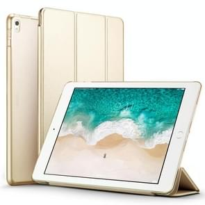 ESR Yippee Color Series Three-folding Magnetic Leather Case for iPad Pro 10.5 inch, with Sleep / Wake-up Function(Champagne Gold)