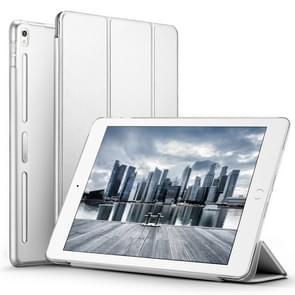 ESR Yippee Color Plus serie zachte rand drie-opvouwbare magnetische lederen case voor iPad Pro 10,5 inch, met slaap/Wake-up functie (grijs)