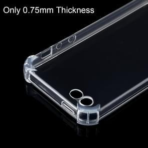 Stootvast transparante TPU beschermhoes voor iPhone 5 & 5s & SE