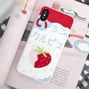 Strawberry Pattern TPU Case for   iPhone X / XS