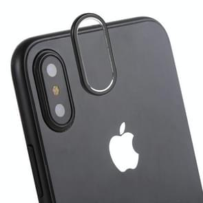 Rear Camera Lens Protection Cover for iPhone X / XS(Black)