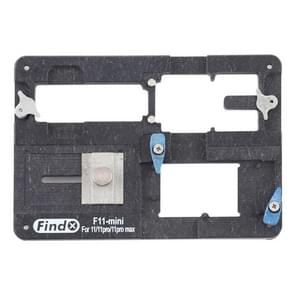 Findx F11-mini Voor iPhone 11 / 11 Pro / 11 Pro Max Reballing Stencil Platform Jig Fixture