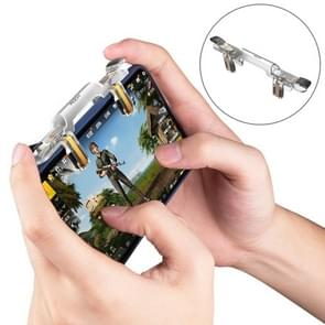 ROCK Shooting Game Controller, For iPhone, Samsung, Xiaomi, Huawei, HTC, OPPO, vivo and Other Smartphones(Transparent)