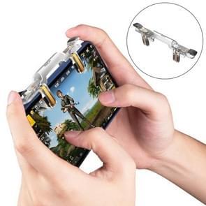 ROCK schieten Game Controller  voor iPhone  Samsung  Xiaomi  Huawei  HTC  tegenstander  vivo en andere Smartphones(Transparent)