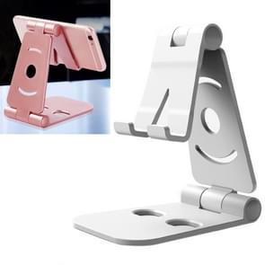 WQ-02 Foldable Creative Lazy Bracket Phone Holder(White)
