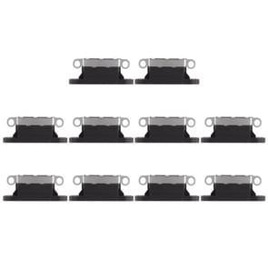 10 stuks opladen Port-Connector voor iPhone X(Black)