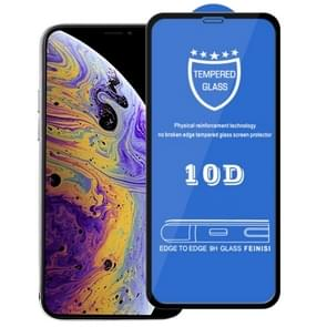 9H 10D Full Screen Tempered Glass Screen Protector for iPhone 11 Pro / XS / X