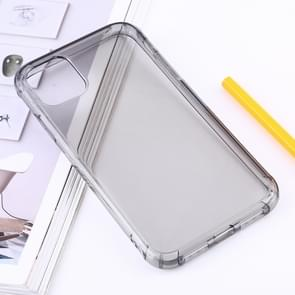 Shockproof Thick Transparent TPU Protective Case for iPhone XI 2019 (Grey)