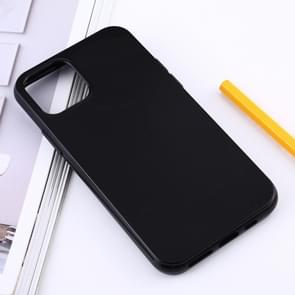 Shockproof Solid Color TPU Protective Case for iPhone XI 2019 (Black)