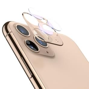 For iPhone 11 Pro Max / 11 Pro TOTUDESIGN Crystal Color Rear Camera Lens Protective Film (Gold)