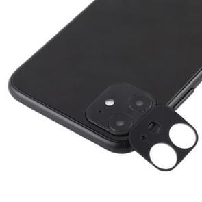 Voor iPhone 11 TPE Achtercamera lens beschermende film (zwart)