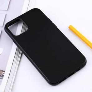 Shockproof Solid Color TPU Protective Case for iPhone 11 (Black)