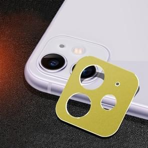 Rear Camera Lens Protection Ring Cover for iPhone 11 (Yellow)