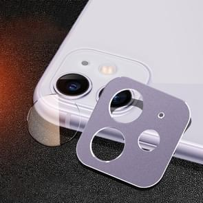 Rear Camera Lens Protection Ring Cover + Rear Camera Lens Protective Film Set for iPhone 11 (Purple)