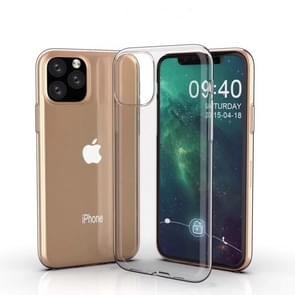 0.75mm Ultra-thin Shockproof TPU Protective Case for iPhone 11(Transparent)