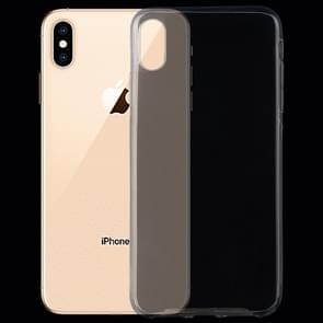 TPU Ultra-thin transparant Case voor iPhone XS Max(Transparent)