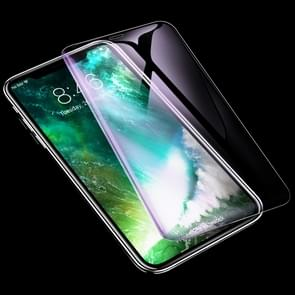 ROCK 0.26mm 9H 6D Curved Surface Anti Blue-ray HD Full Screen Tempered Glass Film for iPhone 11 Pro Max / XS Max
