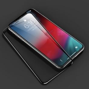 ROCK 0.23mm Soft Edge 7D Curved Surface Full Screen Tempered Glass Film for iPhone 11 Pro Max / XS Max(Transparent)