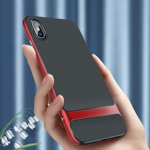 ROCK Royce Series PC + TPU Protective Case for iPhone XS Max (Red)