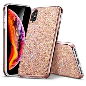 ESR Glitter Series PC + TPU Sparkly Diamond Case for iPhone XS Max(Rose Gold)