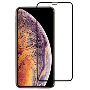 9H Plasma Oiling Full Screen Tempered Glass Film iPhone XS Max (Black)