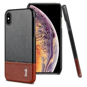IMAK Ruiyi Series Concise Slim PU + PC Protective Case for iPhone XS Max