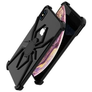R-JUST Buckle Spider Mobile Phone Case for iPhone XS MAX (Black)