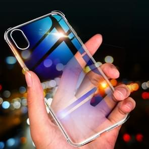 ROCK hek S serie dunne TPU beschermende Case voor iPhone XS Max (transparant)