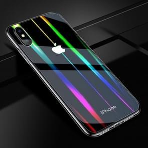 Twilight transparant glas Case voor iPhone XS Max
