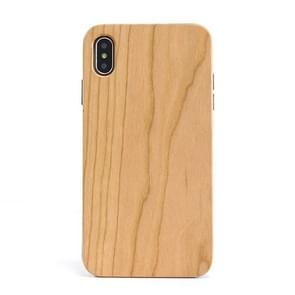 Shockproof TPU+ Wood Full Protective Case for iPhone XS Max