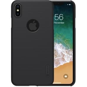 NILLKIN Frosted Concave-convex Texture PC Case for iPhone XS Max (Black)