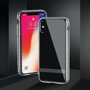 JOYROOM Diamond Texture Transparent TPU Protective Case for iPhone XS Max (Transparent)
