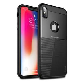 IPAKY Droppoof TPU + PC Protective Case for iPhone XS Max (Black)
