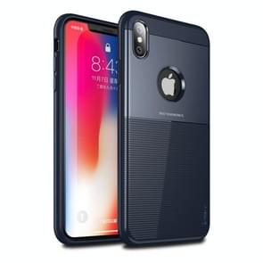 Droppoof TPU + PC Protective Case for iPhone XS Max(Blue)