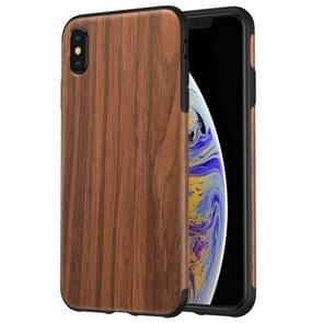 ROCK Rosewood Wood Texture TPU Case for iPhone XS Max