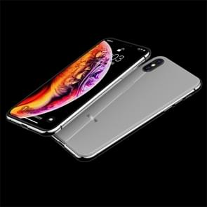 JOYROOM Smooth Series Shockproof TPU + Glass Protective Case for iPhone XS Max (White)