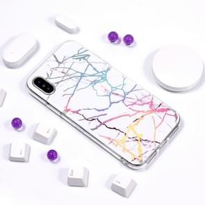 Glanzende Laser TPU Case voor iPhone XS Max