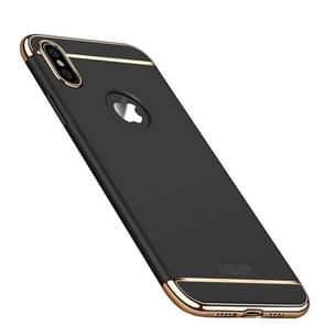 MOFI Three Stage Splicing Full Coverage PC Case for iPhone XS Max (Black)