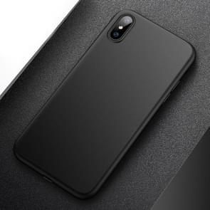 CAFELE PP Ultra-slim Matte Protective Back Cover Case for  iPhone XS Max(Black)