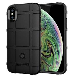 volledige Shockproof TPU Case voor iPhone XS Max(Black)