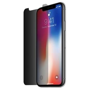 0.26mm 9H 3D Non-full Screen Highly Transparent Privacy Anti-glare Tempered Glass Film for iPhone 11 Pro Max / XS Max