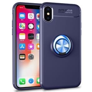 lenuo Shockproof TPU Case voor iPhone XS Max  met onzichtbare houder